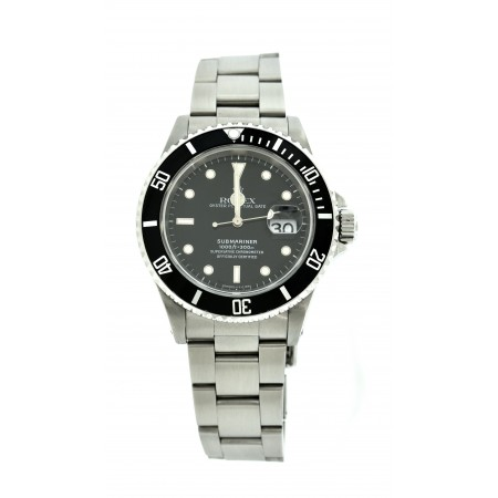 PRE-OWNED 1996 ROLEX SUBMARINER REFERENCE # 16610
