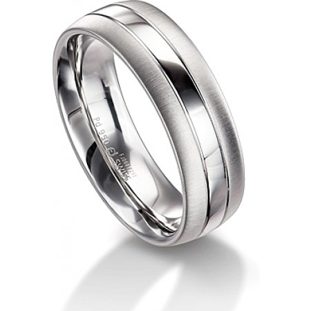 MEN'S PLATINUM 7MM WEDDING BAND