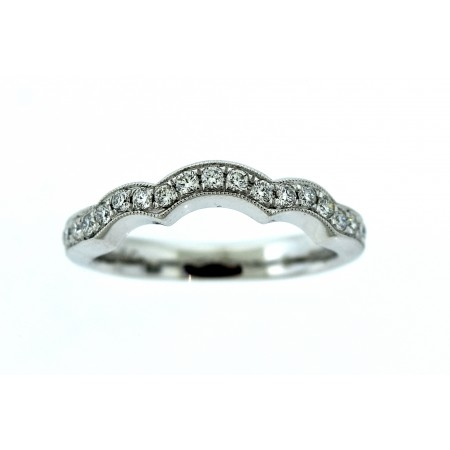 14 WHITE GOLD DIAMOND BAND