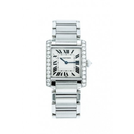 PRE-OWNED CARTIER TANK ANGLAISE MODEL # 2301
