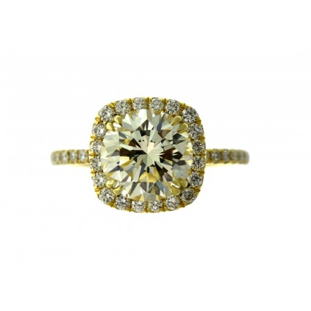 Halo Diamond Engagement Ring 10-01211