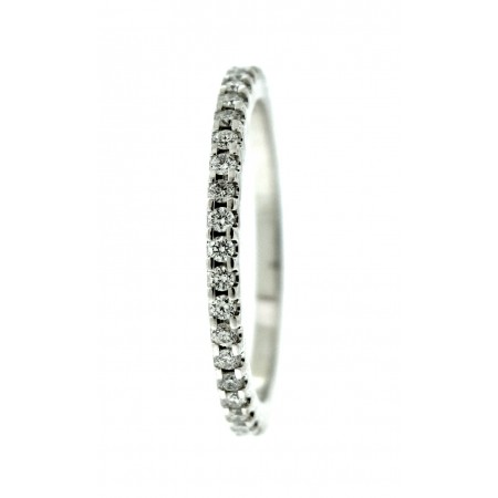 14K WHITE GOLD .33 CARAT DIAMOND ETERNITY BAND