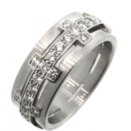 Furrer Jacot Platinum Diamond Band