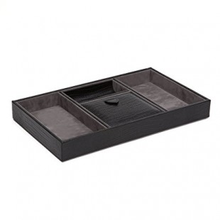 Wolf Black Valet Tray