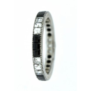 18K WHITE GOLD 1.79CT  DIAMOND ETERNITY BAND