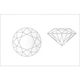 0.14 - Carat Round Cut Diamond
