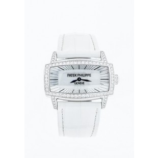 Pre-Owned Patek Philippe Gondolo Gemma 4981G 18K White Gold