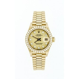 PRE-OWNED 1985 LADIES ROLEX PRESIDENT