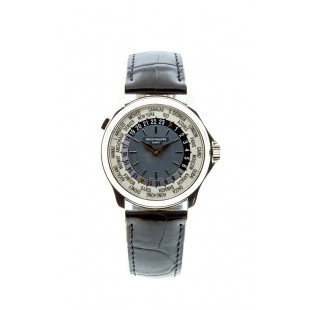 Pre-Owned Patek Philippe World Time Platinum 5130P