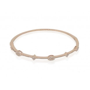 LUVENTE Diamond Bracelet- 14K Rose Gold