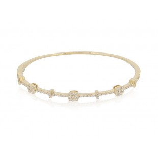 LUVENTE Diamond Bracelet - 14K Yellow Gold