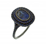 Sapphire and DIamond Ring 30-02252
