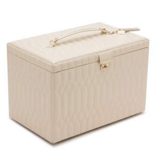 WOLF CREAM CAROLINE MEDIUM JEWELRY BOX