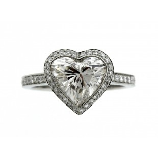 2.04CT HEART SHAPPED DIAMOND ENGAGEMENT RING