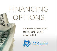 0% Financing for up to one year available!